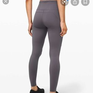 Lululemon Fast and Free tights size 12 New gray